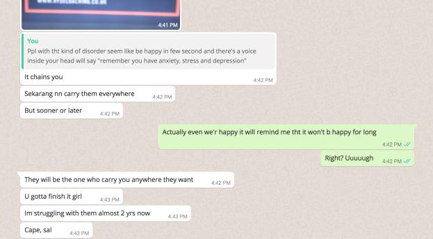 depression chat